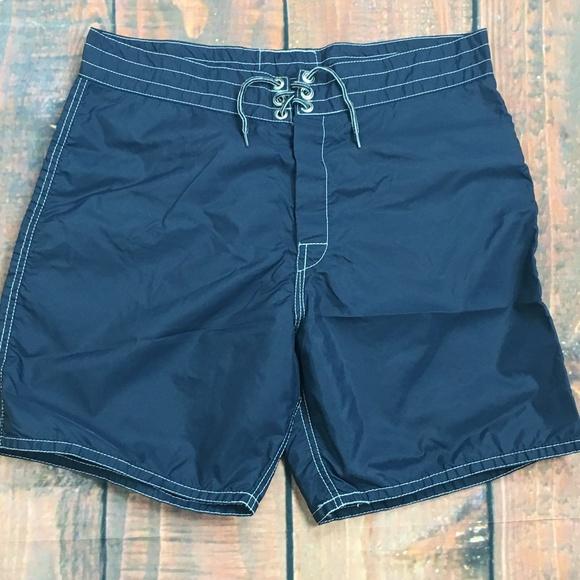 c08017f4a8 Birdwell Britches Other - BIRDWELL Beach Britches Vtg USA Nylon Swim Trunks